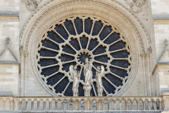 Cathedral Notre Dame - Paris. Stock Images