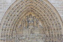Cathedral Notre Dame - Paris. Stock Photos