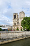 Cathedral of Notre Dame in Paris Royalty Free Stock Images
