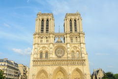 Cathedral of Notre Dame in Paris Royalty Free Stock Photo