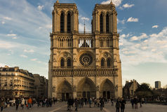 The cathedral Notre Dame , Paris, France. Royalty Free Stock Photography
