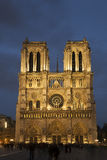Cathedral of Notre Dame, Paris Royalty Free Stock Photos