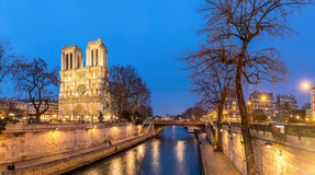 Cathedral Notre Dame Paris Royalty Free Stock Images