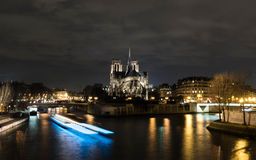 Cathedral Notre Dame in Paris Royalty Free Stock Photo