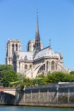 Cathedral Notre Dame Paris Stock Image