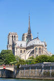 Cathedral Notre Dame Paris Royalty Free Stock Photos