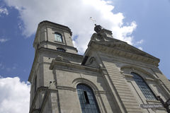 Cathedral Notre Dame Quebec City Royalty Free Stock Image