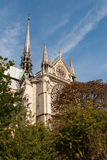 Cathedral Notre-Dame of Reims Stock Image
