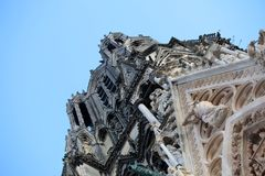 Cathedral of Notre-Dame, Reims France Stock Photo