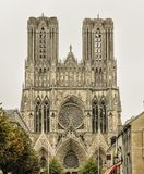 Cathedral in Reims, France. Cathedral Notre Dame in Reims, France stock images