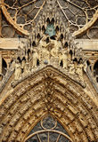 Cathedral Notre-Dame at Reims Royalty Free Stock Image