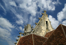 Cathedral (Notre Dame) of Senlis, France Royalty Free Stock Images