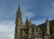Cathedral (Notre Dame) of Senlis, France Stock Images