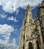 Cathedral (Notre Dame) of Senlis, Oise, Picardy, France Royalty Free Stock Images