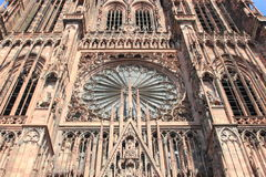 Cathedral Notre Dame, Strasbourg Stock Image