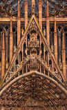 Cathedral of Notre-Dame at Strasbourg Royalty Free Stock Photo