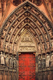 Cathedral of Notre-Dame at Strasbourg, France Royalty Free Stock Photos