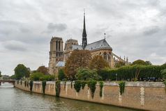Cathedral of Notre Dame Royalty Free Stock Photo