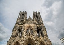 Cathedral Notre Dames at Reims Royalty Free Stock Image