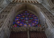 Cathedral Notre Dames at Reims Royalty Free Stock Photo