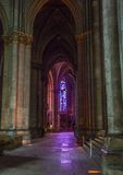Cathedral Notre Dames at Reims Royalty Free Stock Photography