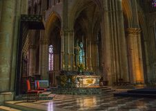 Cathedral Notre Dames at Reims Stock Photo