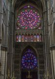 Cathedral Notre Dames at Reims Stock Image