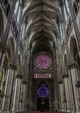 Cathedral Notre Dames at Reims Royalty Free Stock Images