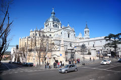 Cathedral of Nuestra Senora de la Almudena Royalty Free Stock Images