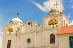 Cathedral Nuestra Senora de los Remedios y San Pablo del Itza. F Stock Photos