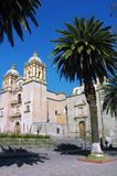 Cathedral in Oaxaca Royalty Free Stock Images