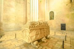 Free Cathedral Of Alcobaca Tomb Royalty Free Stock Images - 113164009