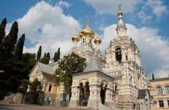 Cathedral Of Alexander Nevsky, Ukraine Stock Photos