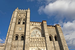 Cathedral Of Avila /Spain/ Stock Image
