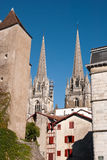 Cathedral Of Bayonne Stock Images