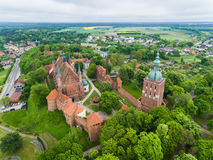 Free Cathedral Of Frombork, View From Above Stock Photography - 93393452