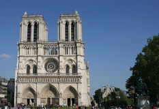 Cathedral Of Notre Dame De Paris Royalty Free Stock Image