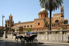 Free Cathedral Of Palermo Royalty Free Stock Photo - 4191535