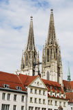 Cathedral Of Regensburg Royalty Free Stock Photography