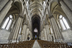 Free Cathedral Of Reims - Interior Stock Image - 27535481