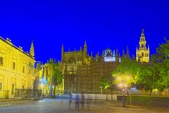 Cathedral Of Saint Mary Of The See Catedral De Santa Maria De L Royalty Free Stock Photography