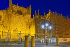 Cathedral Of Saint Mary Of The See Catedral De Santa Maria De L Stock Images
