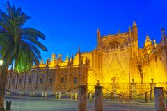 Cathedral Of Saint Mary Of The See Catedral De Santa Maria De L Stock Image
