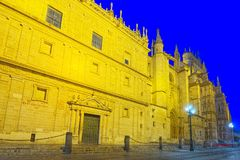 Cathedral Of Saint Mary Of The See Catedral De Santa Maria De L Royalty Free Stock Images
