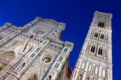 Cathedral Of Santa Maria Del Fiore, Florence, Italy Stock Photos