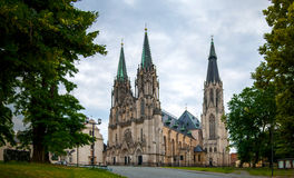 Cathedral Of St. Wenceslas, Olomouc, Czech Republic Royalty Free Stock Image
