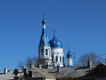 Free Cathedral Of The Holy Virgin In The City Of Gatchina. Royalty Free Stock Photo - 68498155