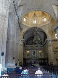 Cathedral in old havana royalty free stock photos