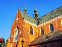 Cathedral in Oliwa, Gdansk. Cathedral in Oliwa - famous for its beautiful organs in Gdansk, Poland Royalty Free Stock Image
