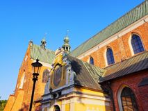 Cathedral in Oliwa, Gdansk Royalty Free Stock Images